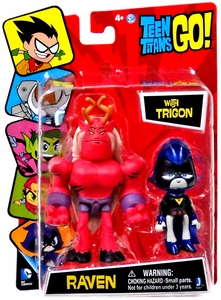 Teen Titans Go! Jazwares 3 Inch Figure Raven with Trigon