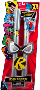 Teen Titans Go! Jazwares Roleplay Toy Playset Robin Mask, Staff & Buckle