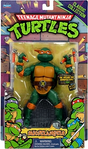 Teenage Mutant Ninja Turtles Classics Retro 6 Inch Action Figure Michelangelo Damaged Package Mint Contents!