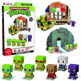 Funko Boxos Papercraft Set Teenage Mutant Ninja Turtles Pre-Order ships July