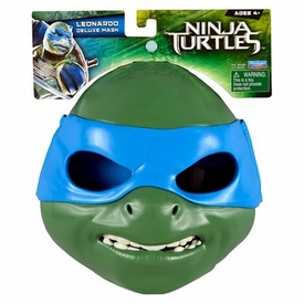 Teenage Mutant Ninja Turtles TMNT 2014 Exclusive Deluxe Mask Leonardo New!