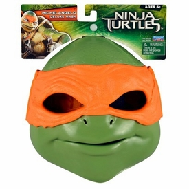 Teenage Mutant Ninja Turtles TMNT 2014 Exclusive Deluxe Mask Michelangelo New!