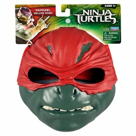 Teenage Mutant Ninja Turtles TMNT 2014 Exclusive Deluxe Mask Raphael New!