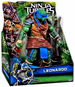 Teenage Mutant Ninja Turtles TMNT 2014 Movie 11 Inch Figure Leonardo New!