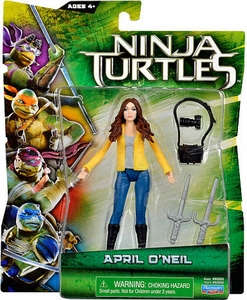 Teenage Mutant Ninja Turtles TMNT 2014 Movie Basic Action Figure April O'Neil New!
