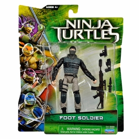 Teenage Mutant Ninja Turtles TMNT 2014 Movie Basic Action Figure Foot Soldier  New!