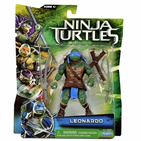 Teenage Mutant Ninja Turtles TMNT 2014 Movie Basic Action Figure Leonardo New!