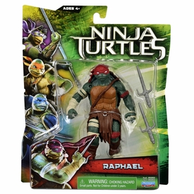 Teenage Mutant Ninja Turtles TMNT 2014 Movie Basic Action Figure Raphael
