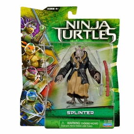 Teenage Mutant Ninja Turtles TMNT 2014 Movie Basic Action Figure Splinter New!