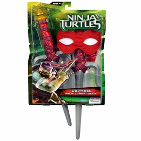 Teenage Mutant Ninja Turtles TMNT 2014 Movie Basic Roleplay Pack Raphael New!