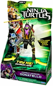 Teenage Mutant Ninja Turtles TMNT 2014 Movie Deluxe Action Figure Donatello New!