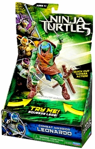 Teenage Mutant Ninja Turtles TMNT 2014 Movie Deluxe Action Figure Leonardo New!