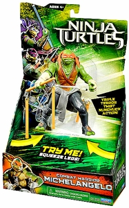 Teenage Mutant Ninja Turtles TMNT 2014 Movie Deluxe Action Figure Michelangelo