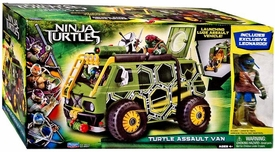 Teenage Mutant Ninja Turtles TMNT 2014 Movie EXCLUSIVE Turtle Assault Van [Leonardo Figure!]