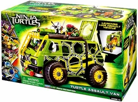 Teenage Mutant Ninja Turtles TMNT 2014 Movie Turtle Assault Van New!