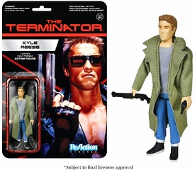 Terminator Funko 3.75 Inch ReAction Figure Kyle Reese  Pre-Order ships July