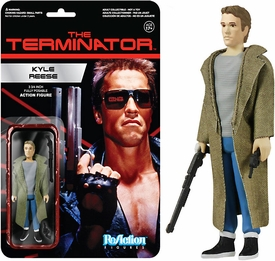 Terminator Funko 3.75 Inch ReAction Figure Kyle Reese