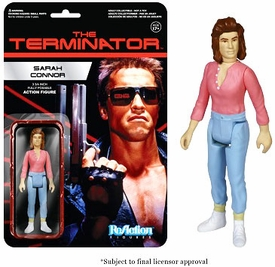 Terminator Funko 3.75 Inch ReAction Figure Sarah Connor