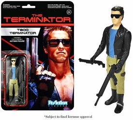 Terminator Funko 3.75 Inch ReAction Figure T-800 Pre-Order ships August