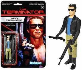 Terminator Funko 3.75 Inch ReAction Figure T-800 New!