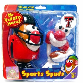 Texas Tech Red Raiders Mr. Potato Head Sports Spuds NCAA College