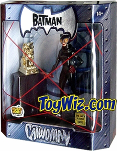 The Batman 2005 San Diego Comic Con Exclusive Action Figure Catwoman 24K Gold Statue Variant