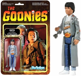 The Goonies Funko 3.75 Inch ReAction Figure Data Pre-Order ships August