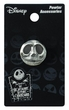 The Nightmare Before Christmas Pewter Lapel Pin Jack Head  Pre-Order ships April