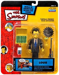 The Simpsons Series 14 Playmates Action Figure Louie