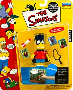 The Simpsons Series 5 Playmates Action Figure Bartman