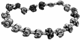 The Trrtlz Bracelet Elephantz Black
