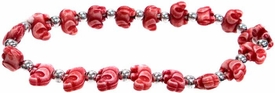 The Trrtlz Bracelet Elephantz Red