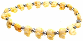 The Trrtlz Bracelet Elephantz Yellow