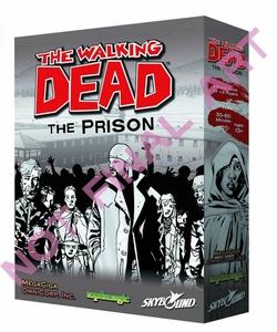 The Walking Dead Comic Board Game The Prison Pre-Order ships October