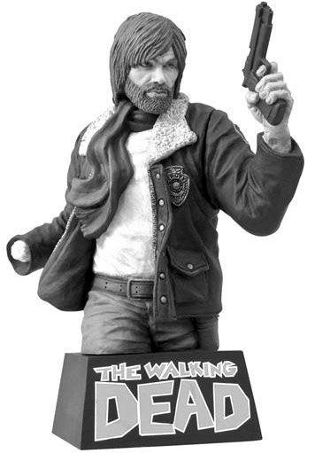 The Walking Dead Comic Book Rick Grimes Bust Bank Black ...