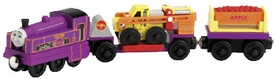 Thomas the Tank Train & Friends Wooden Railway Figure Culdee & The Apple Orchard Cars