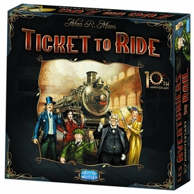 Ticket To Ride Board Game [10th Anniversary Edition] Pre-Order ships August