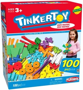 Tinker Toy K'NEX Set #56456 100 Piece Essentials Value Set