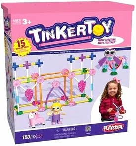 Tinker Toy K'NEX Set #56541 Pink Building Set