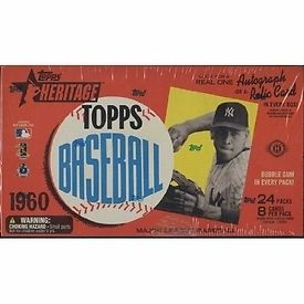 Topps 2009 Heritage American Heroes Edition Baseball Hobby Box
