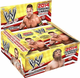 Topps 2014 WWE Wrestling Trading Cards Hobby Box [24 Packs]
