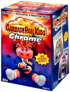 Topps Garbage Pail Kids 2014 Chrome Value Box [7 Packs & 1 Exclusive X-Fractor Pack]