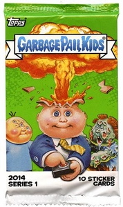 Topps Garbage Pail Kids 2014 RETAIL Pack