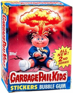 Topps Garbage Pail Kids Trading Cards Series 2 Wax Booster BOX