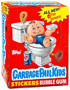 Topps Garbage Pail Kids Trading Cards Series 6 Booster BOX