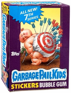 Topps Garbage Pail Kids Trading Cards Series 7 Wax Booster BOX