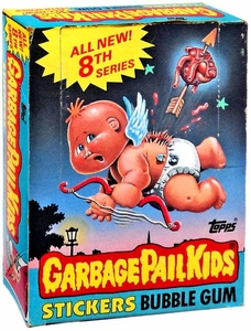 Topps Garbage Pail Kids Trading Cards Series 8 Wax Booster BOX