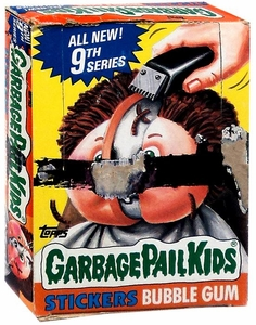 Topps Garbage Pail Kids Trading Cards Series 9 Wax Booster BOX