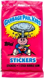 Topps Garbage Pail Kids Trading Cards Wax Booster Pack