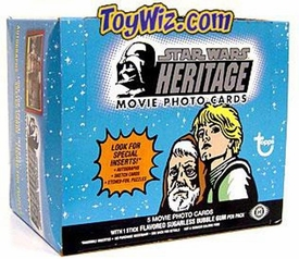 Topps Star Wars Hobby Edition Heritage Movie Trading Card Box [36 Packs]